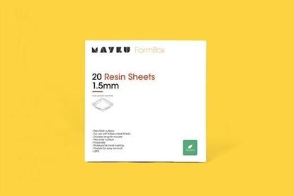 Εικόνα της Mayku Resin Sheets 20 Pack 1.5mm